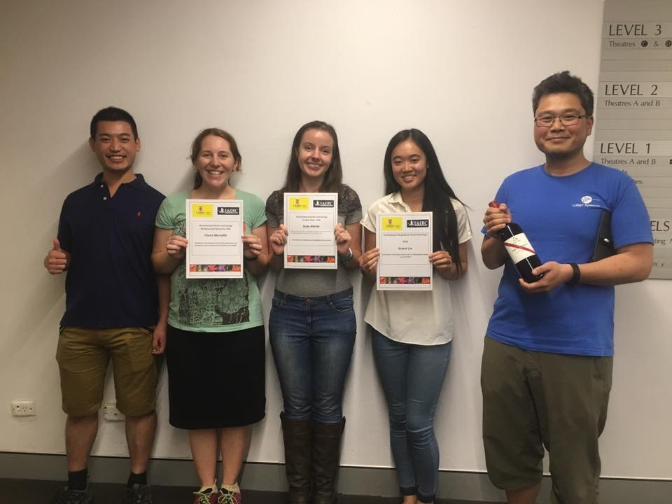 Some of the winners of the evening (Photo credit: Amy Hooper and E&ERC UNSW