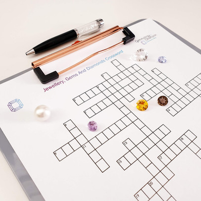 Jewellery, Gems and Diamonds Crossword