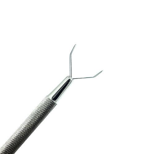 2 Prong Gemstone / Diamond Holder Tool