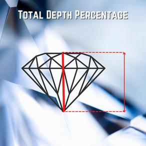 Calculating Diamond's Total Depth Percentage