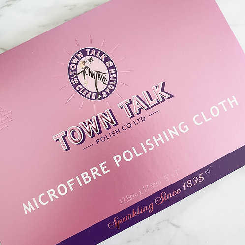 Town Talk Microfibre Polishing Cloth