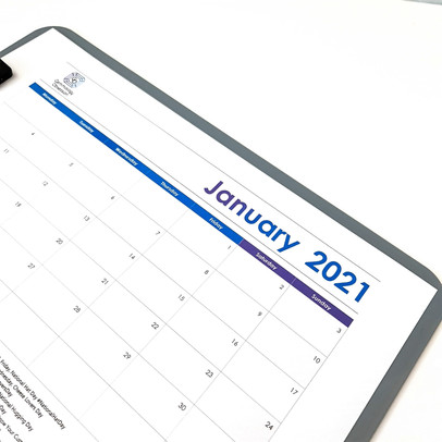 Social Media Calendar Planner - January 2021 with Free PDF Download