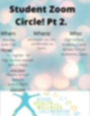 Student Zoom Circle Part 2 _Wellness Tea