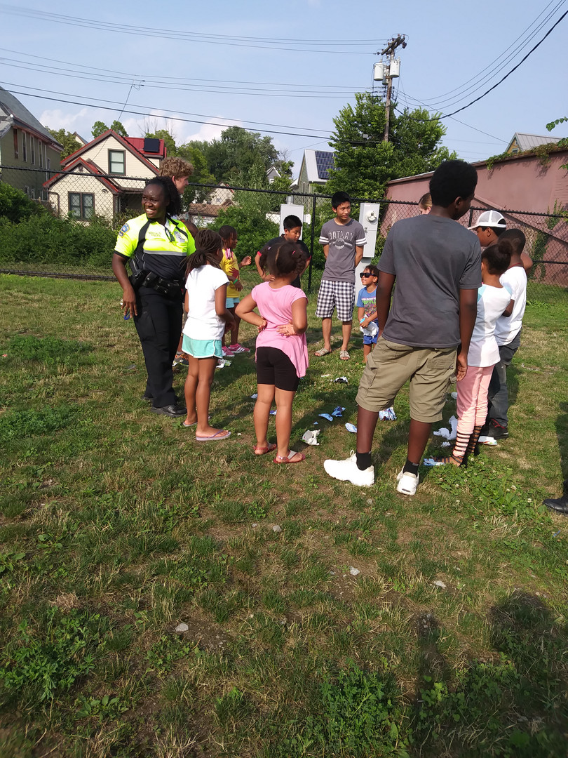 Circles w/Community Police