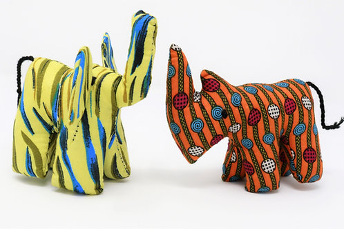 Mini Kitenge Animals