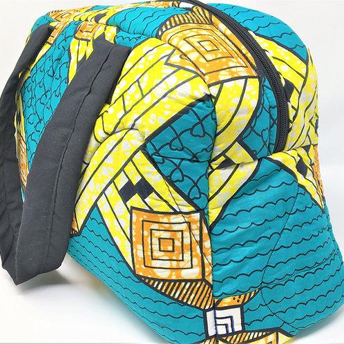 Travel Style Kitenge Multi-purpose Bag