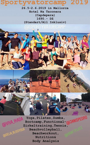 Bliss im Sportyvatorcamp 2019