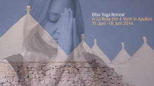 Bliss Yoga Retreat 11.6 - 18.6.2016
