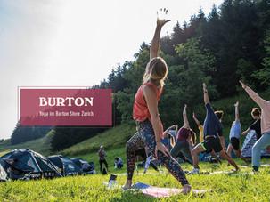 Bliss Yoga @ Burton Store Zurich