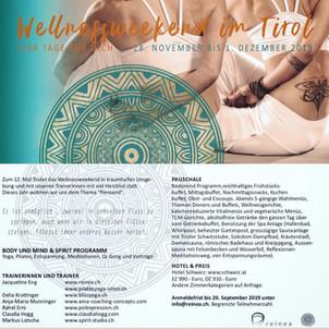 Wellness-Weekend 2019