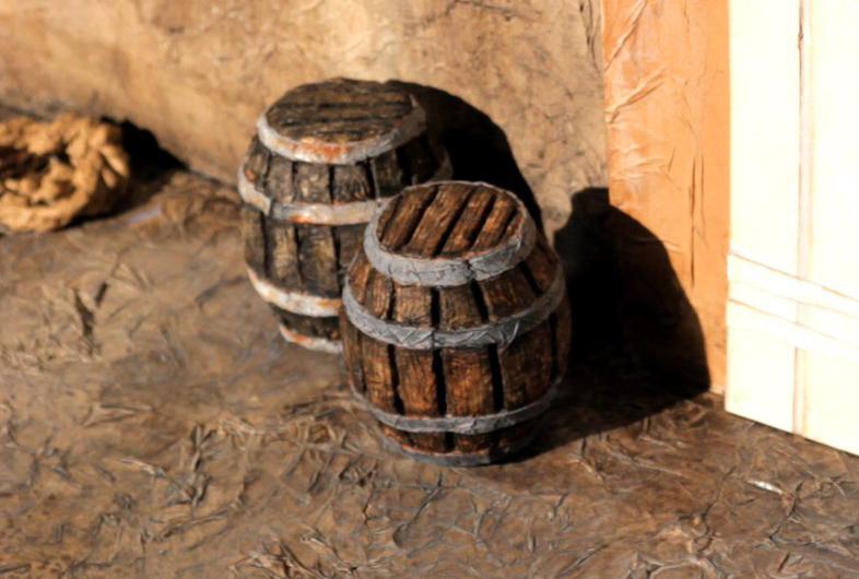 Barrel props