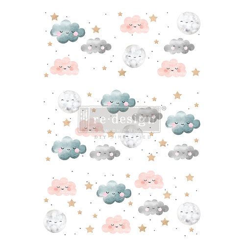 REDESIGN DECOR TRANSFERS® – SWEET LULLABY – TOTAL SHEET SIZE 24″X35″, CUT INTO
