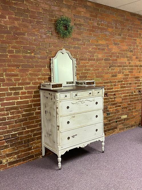 Old White Dresser