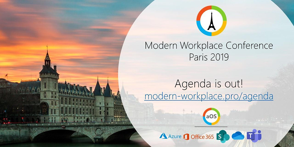 MODERN WORKPLACE CONFERENCE PARIS