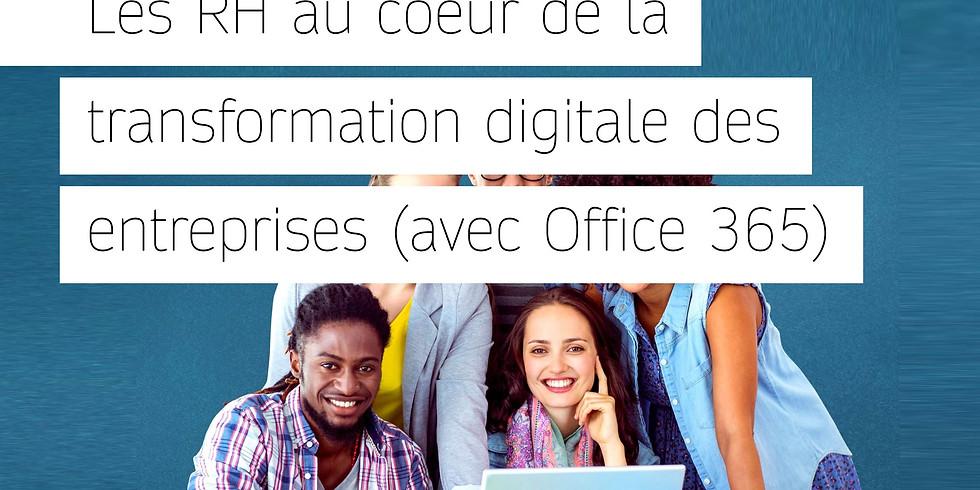 Les RH au coeur de la transformation digitale des entreprises