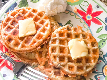 Forget Waffles, Hello Chaffles!