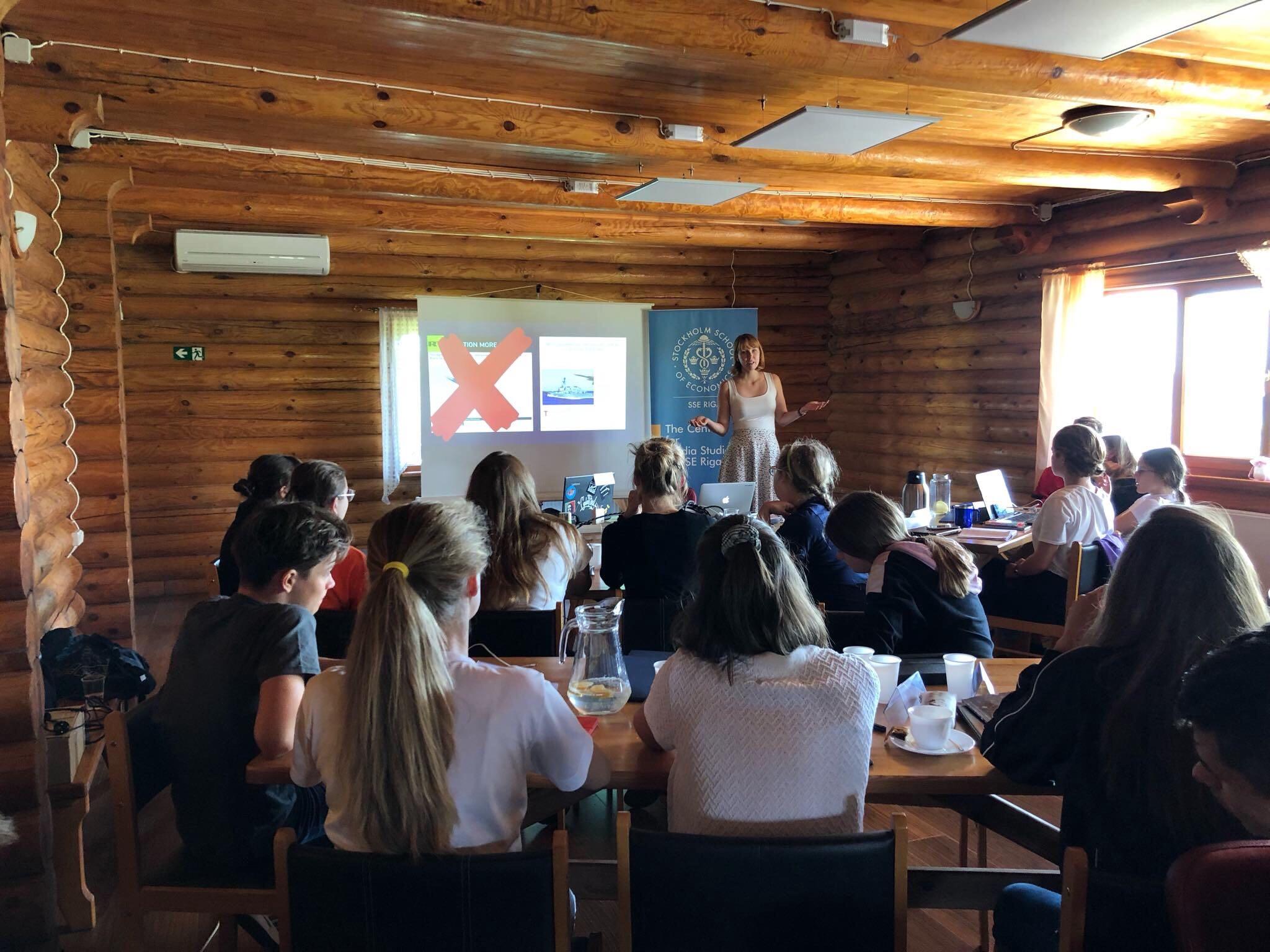 Training in Riga