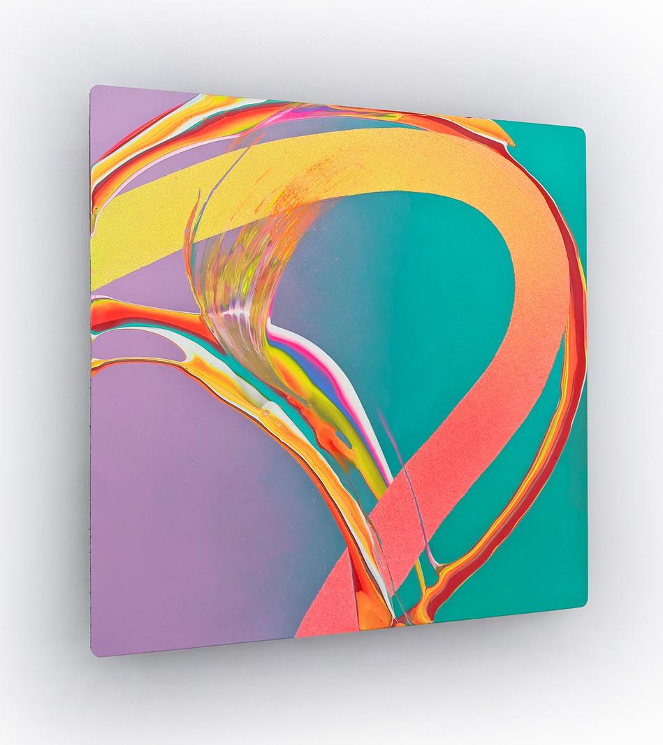 Zindagi - Erik Minter - Acrylic, spray p