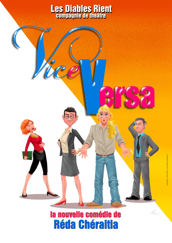 Affiche Vice & Versa