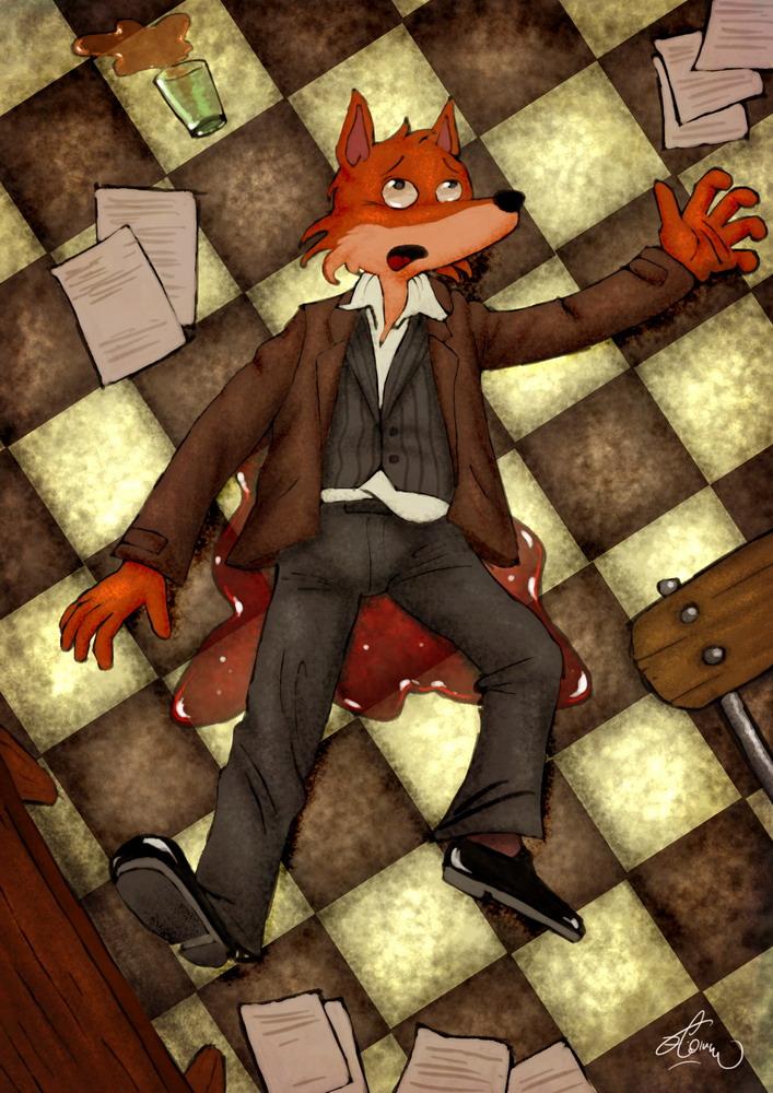 Le renard assassiné