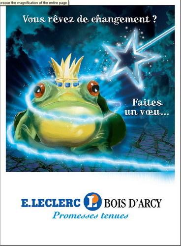 Affiche E.Leclerc