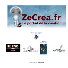 Création du site ZeCrea.fr