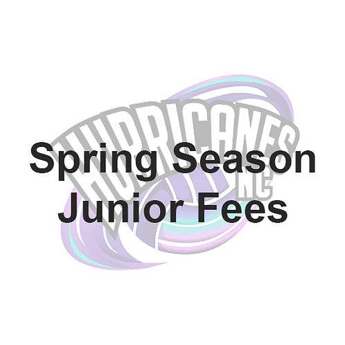 Hurricanes NC Spring Season Fees