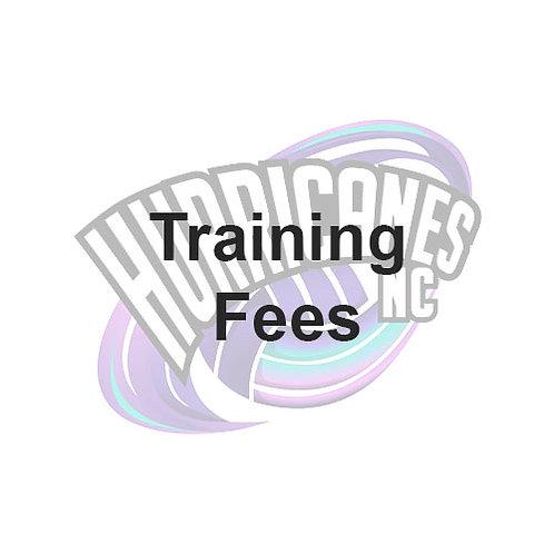 Hurricanes NC Training Fees