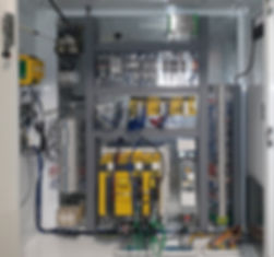 Oxford Gear Machinery Fellows Gear Shaper electrical panel CNC Servo