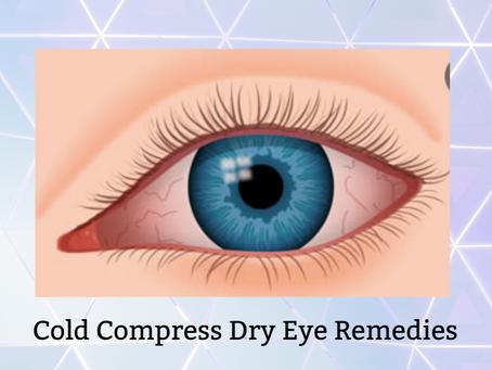 Cold Compress Dry Eye Remedies