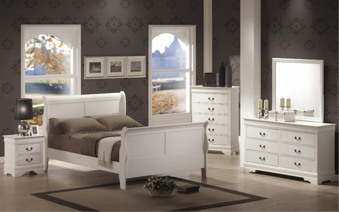 4pc Twin Size Bedroom Set