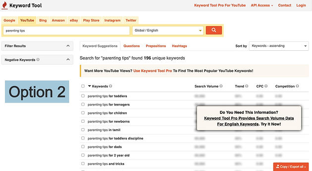 step by step guide to do keyword researc