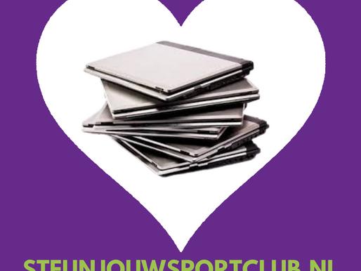 Steun jouw sportclub door IT-apparatuur te doneren