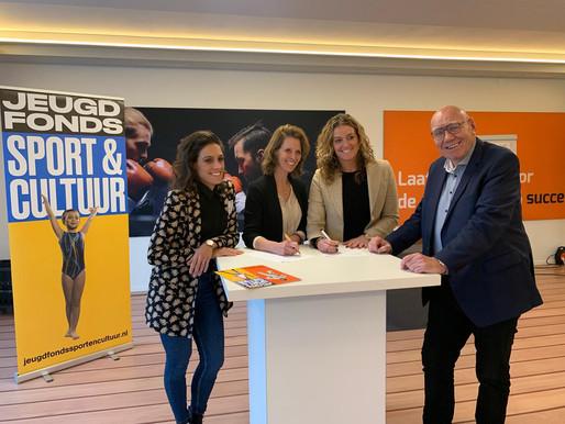 Samenwerking Jeugdfonds Sport & Cultuur