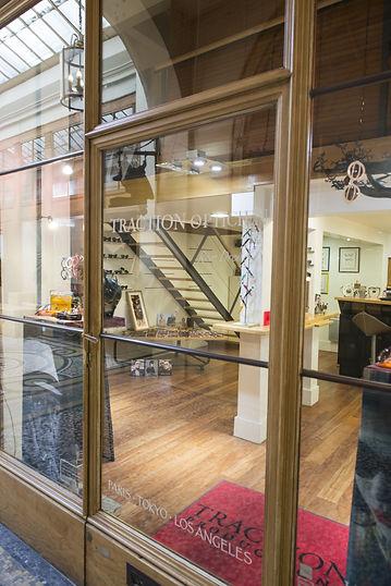 Traction Productions boutique galerie vivienne paris eyewear lunettes