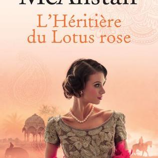 """""""L'Héritière du Lotus rose"""" de Kate McAlistair"""