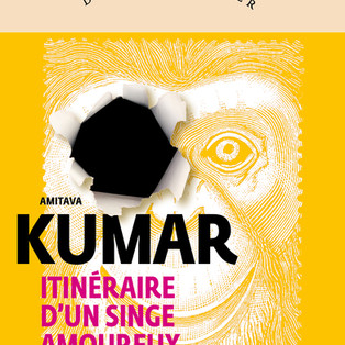 """""""Itinéraire d'un singe amoureux"""" par Amitava Kumar"""
