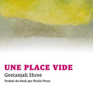 """Une place vide"" de Geetanjali Shree"