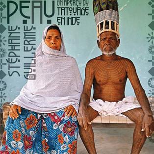 """""""L'Inde sous la peau, un aperçu des mondes du tatouage en Inde"""" de Stéphane Guillerme"""