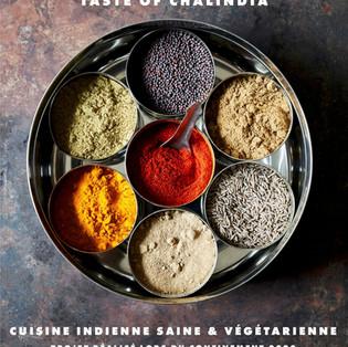 """""""Les Saveurs de Chalinda"""" - Livre de cuisine indienne par Poonam Chawla et Pushan Chawla"""