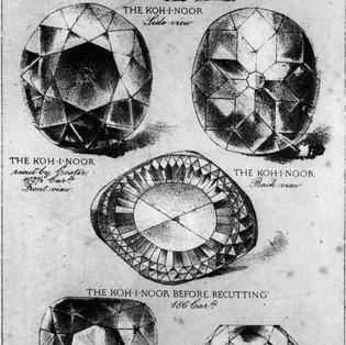 Le Koh-I-Noor, un légendaire diamant