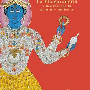 """""""La Bhagavadgītā illustrée par la peinture indienne"""" aux Éditions Diane de Selliers"""