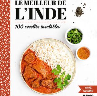 """""""Le meilleur de l'Inde : 100 recettes inratables"""" de Marie-Laure Tombini"""