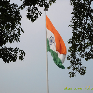 Histoire de drapeau - Le drapeau de Connaught Place à Delhi