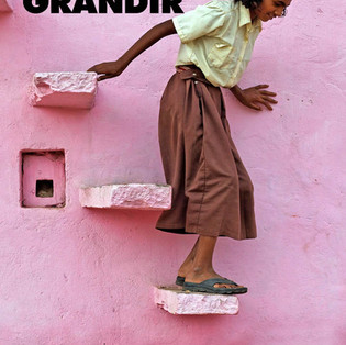"""Grandir"" de Firdaus Kanga"
