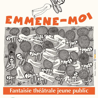 """""""Emmène-moi"""" le spectacle et  """"Drawing from the city"""" de Teju Behan"""
