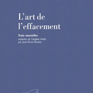 """""""L'art de l'effacement"""" de Anita Desai"""