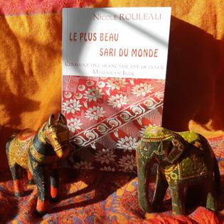 """""""Le plus beau sari du monde - Comment une française est devenue maman en Inde"""" Nicole Rouleau"""