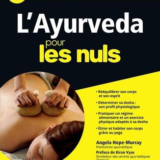 """""""L'ayurveda pour les nuls"""" par Angela Hope-Murray"""