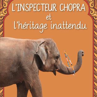 """""""L'inspecteur Chopra et l'héritage inattendu"""" de Vaseem Khan"""